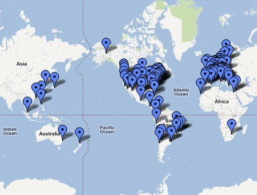 Occupy Movement Tex Shelters Online - Occupy wall street us map